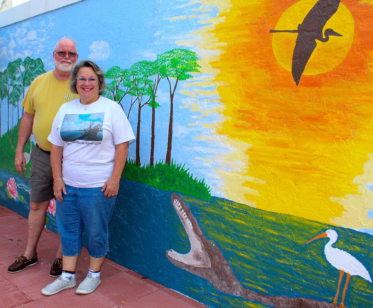 Julie Alexander and her husband, Lindsay
