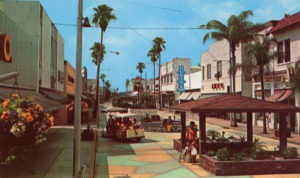 Downtown Fort Pierce began a decline in the 1970
