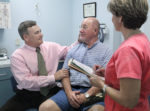We Care Volunteer, Ralph Rosato, MD with We Care patient