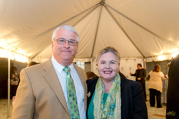IR County Commissioner Tim Zorc and wife, Rosemary