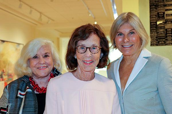 Co-chair Ann Jones, Ann Webber and Barbara Hotchkiss