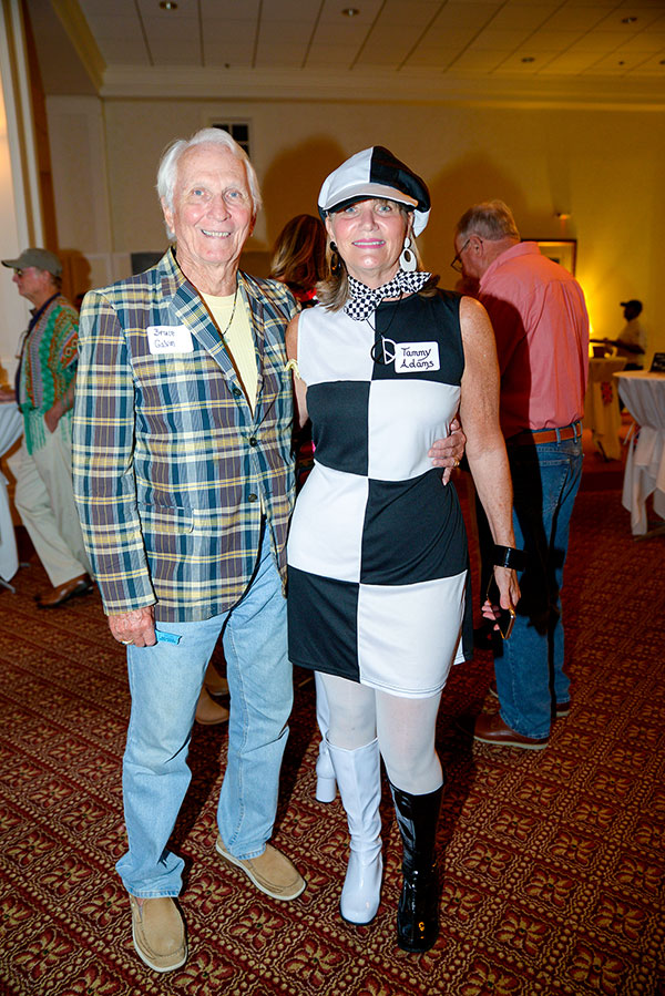 Bruce Galvin and Tammy Adams