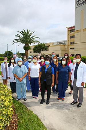 St. Lucie Medical Center personnel