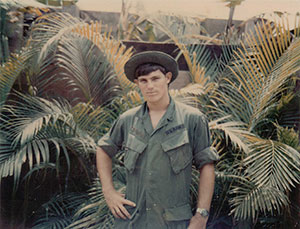 Copas joined the Army in June 1969