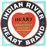 Indian River Citrus Heart Brand