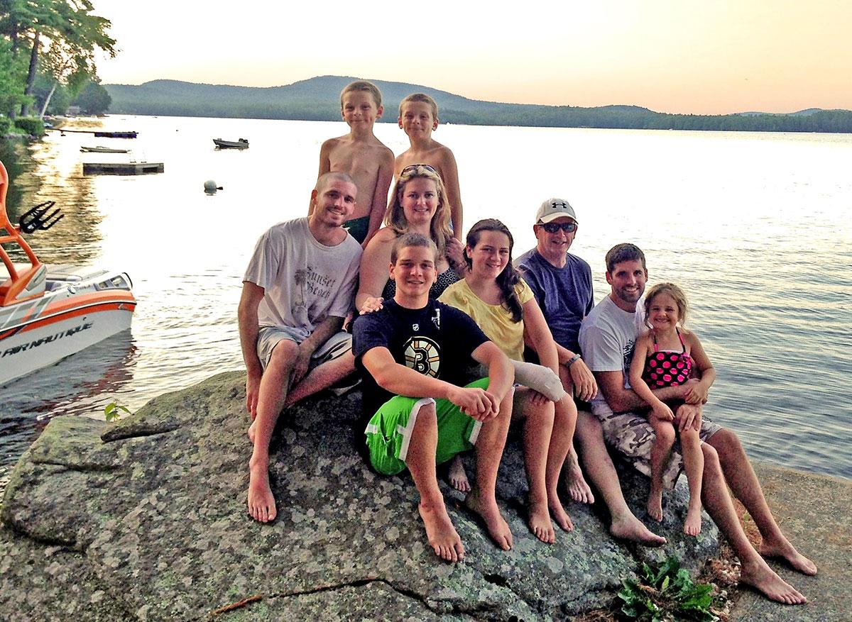 Bob Leonard's family