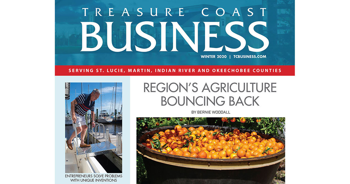 Treasure Coast Business named best new magazine in state