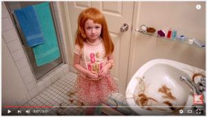 Zoe Leurie Burney Kmart Mother's Day commercial 2016