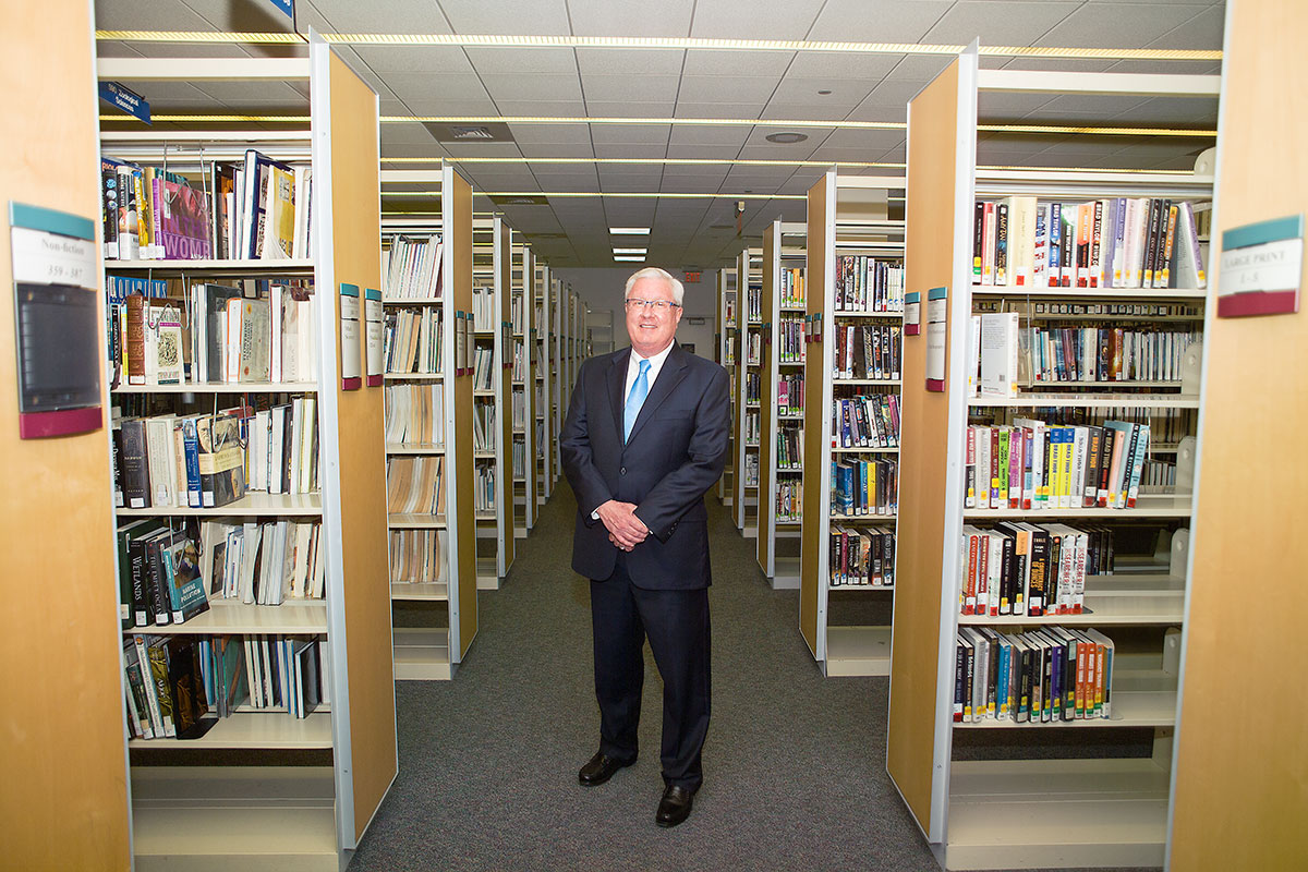 The LIBRARY LEADER