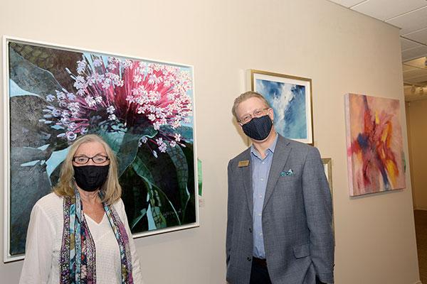 Janie Hinkle and J. Marshall Adams