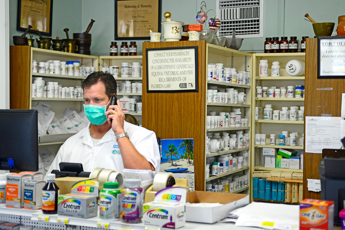 Frankenberger trusted pharmacist and proprietor