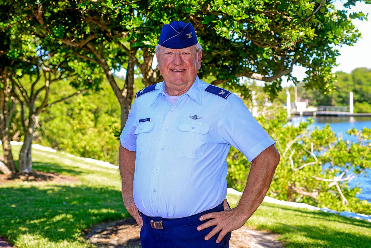 Retired Air Force Col. Martin J. Zickert