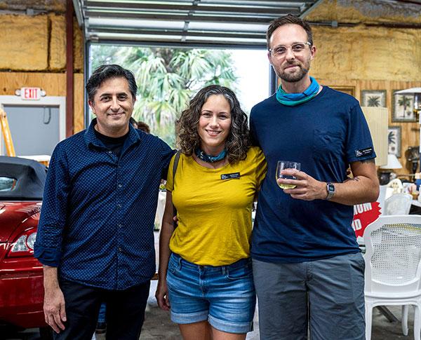 Dan Gorostiaega, Heather Ivins and John Ciambriello