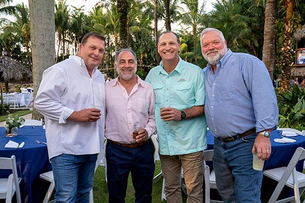 Jack Perko, Paul Filipe, Rich Cunningham and Charlie Moody