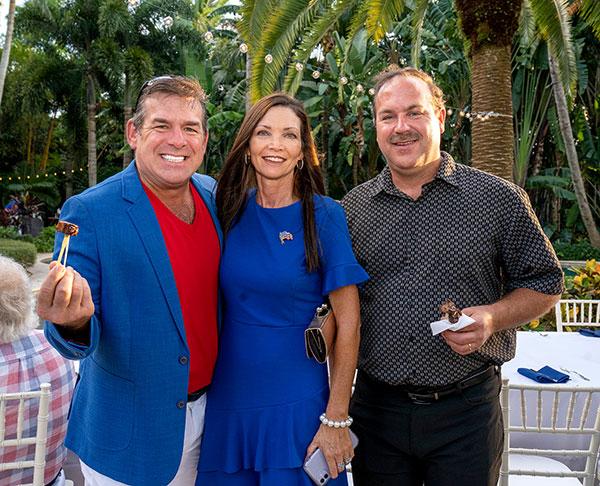 James and Sandee Jo Crocker with Wes Crocker