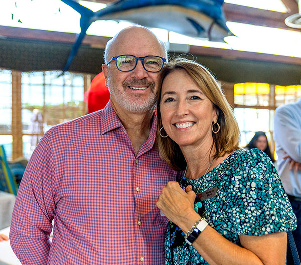 John Packard and Betty Jo Burro