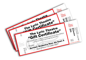 LYRIC THEATRE TICKETS