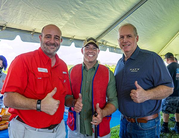 Troy McDonald, Brian Mast and Ed Ciampi