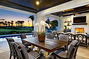 custom-built Sailfish Point home