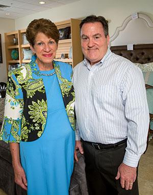 Kathy and David Dow
