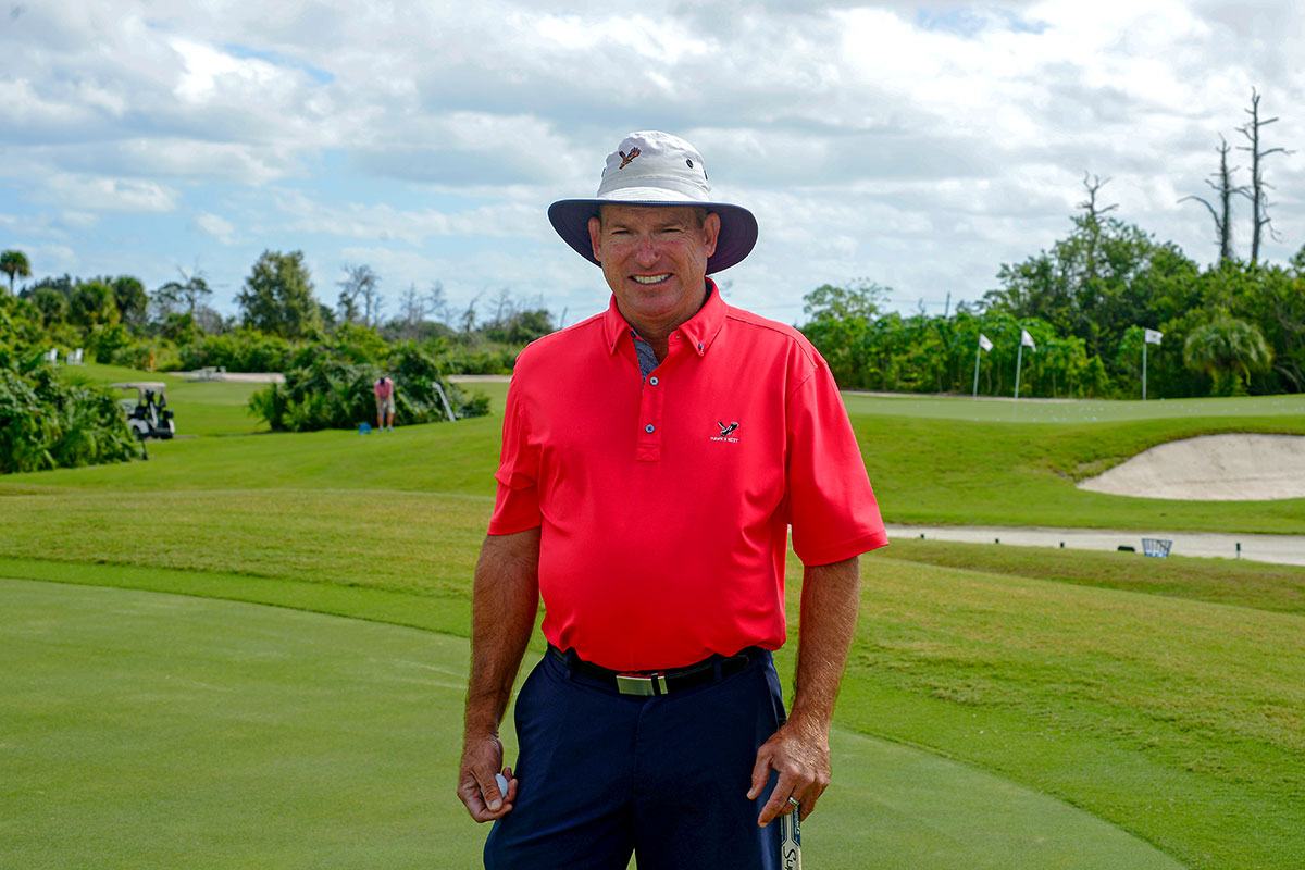 Golf pro Joe Kern, director of instruction at The Moorings At Hawks Nest course