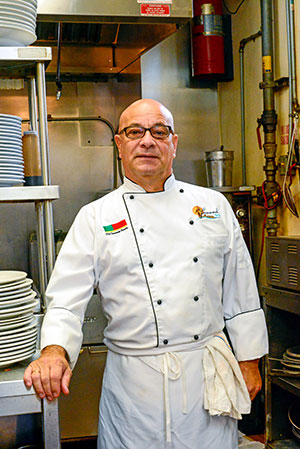 Head chef and owner, Fernando Dovale