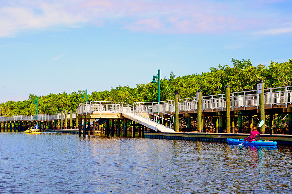 North Fork of the St. Lucie River.