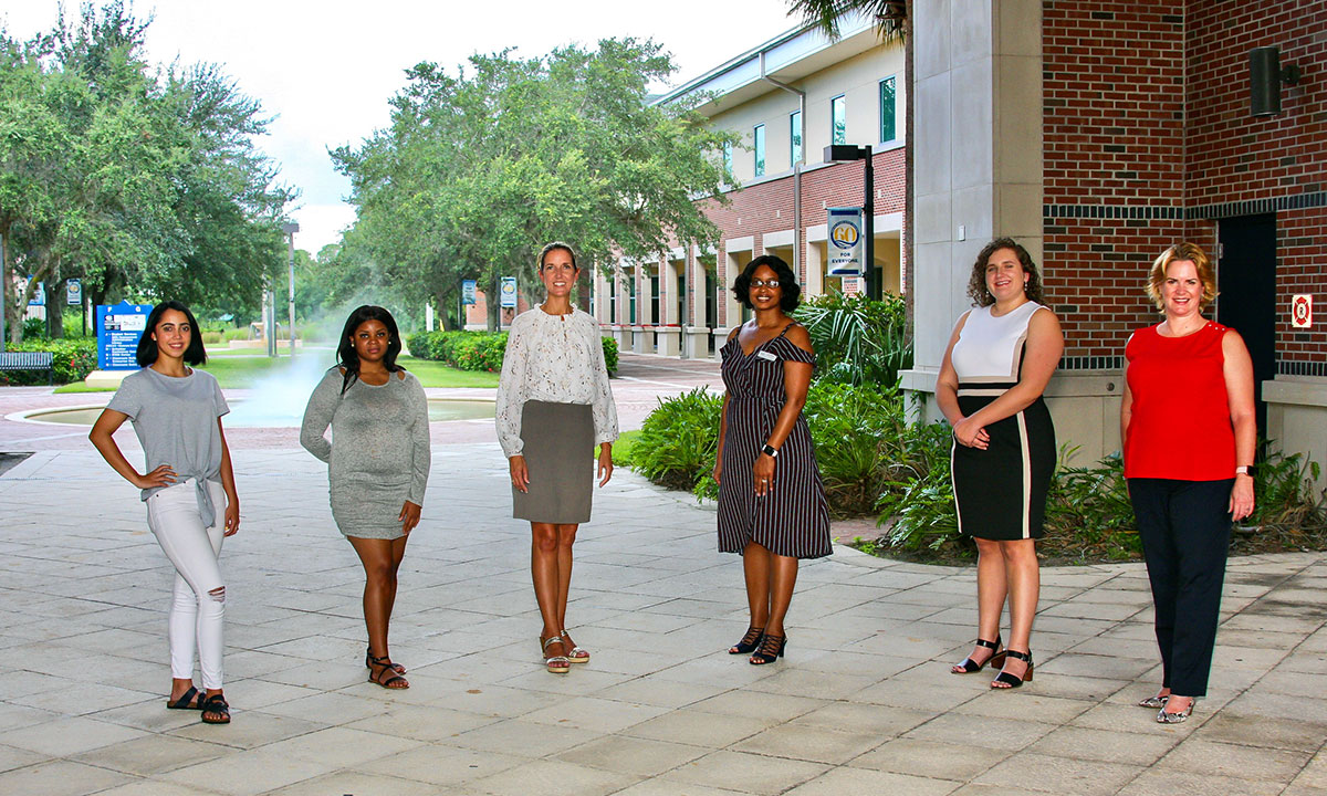 In August, the organization awarded scholarships of $2,500 to three outstanding women