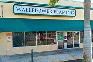 WALLFLOWER CUSTOM PICTURE FRAMING