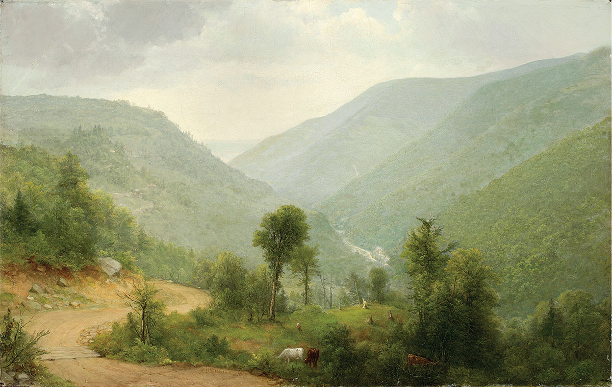 POETRY OF NATURE: Hudson River School Landscapes from the New-York Historical Society