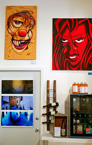 Whirled Inc. art gallery