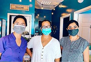 Karla Mattis, Liping Yang and Ankita Patel