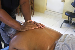 Brittney Smalls-Davis owned a mobile massage service