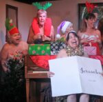"""A rehearsal scene from the upcoming production in May, """"Calendar Girls."""""""