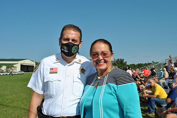 Sheriff Eric Flowers and Carol Jean Jordan