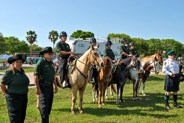 Lake County Sheriff's Office Mounted Patrol