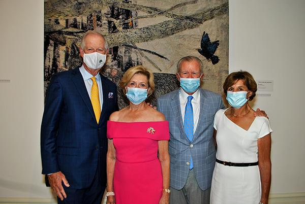 Dennis and Ellen Ferro, Bob and Karen Drury
