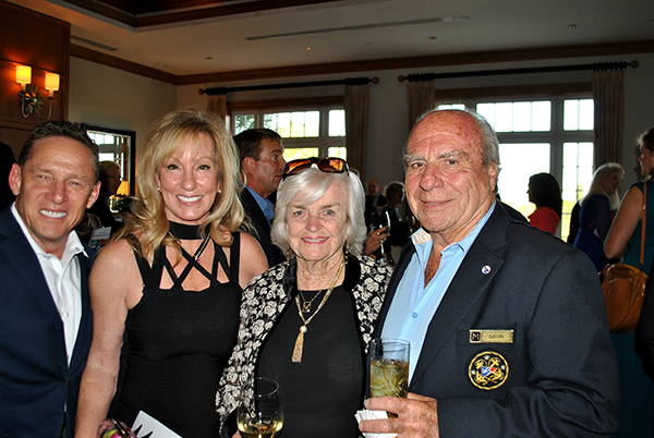 Dr. S. James and Helen Shafer, Gavin and Marcia Rutotolo