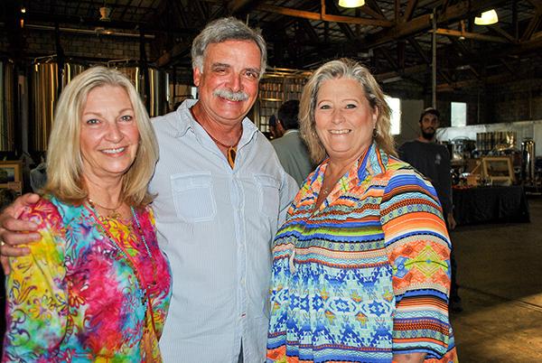 Kathrine Dritenbas, Robert Brulotte and Liz Earman