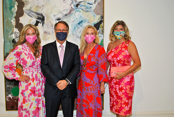 Tammy Theoharis, Brady Roberts,  Deana Marchant and Libby King
