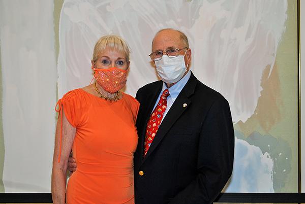 Becky Torbin and Herb Torbin