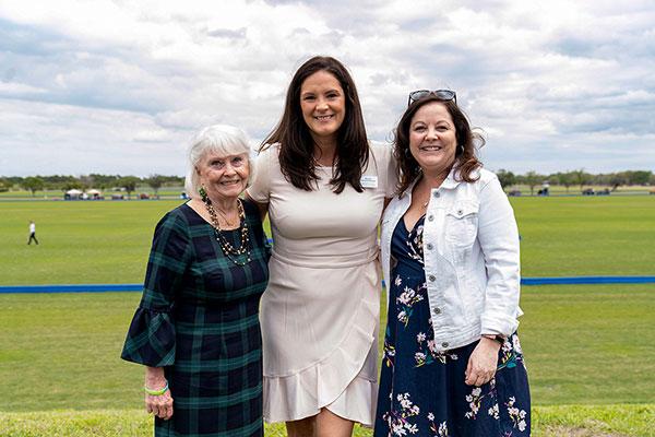 Betsy Herald, Katie Watts and Karen Cadorette