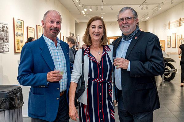 Dan Brady with Allison and HB Warren
