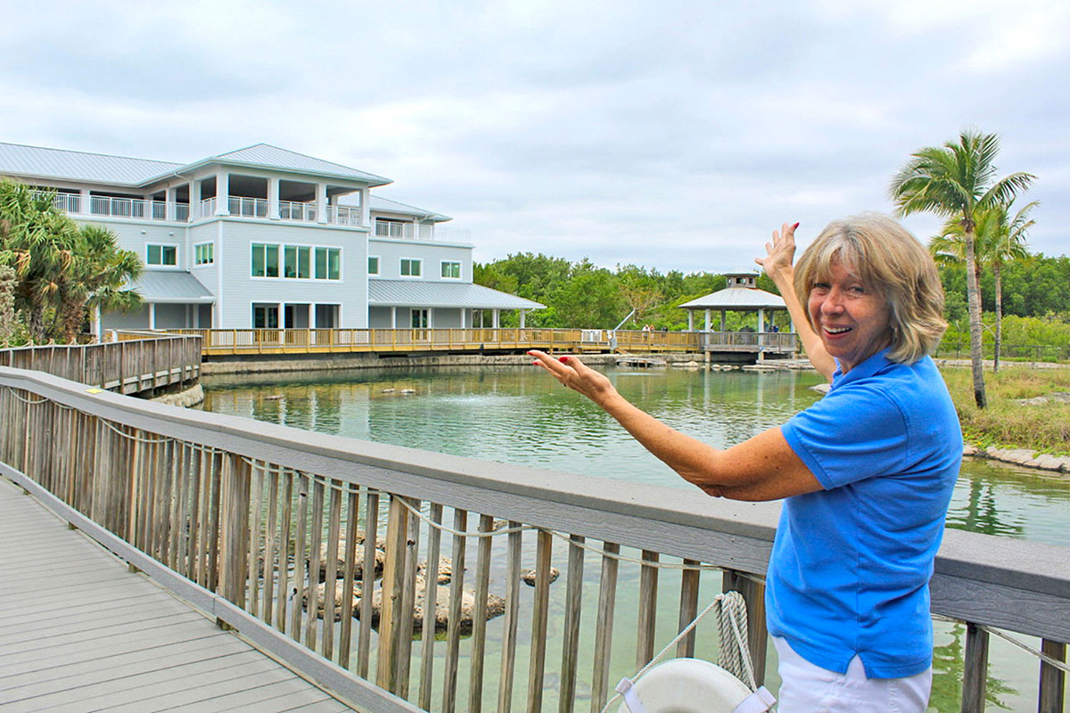 Nancy Perry, fundraising professional for Florida Oceanographic Society