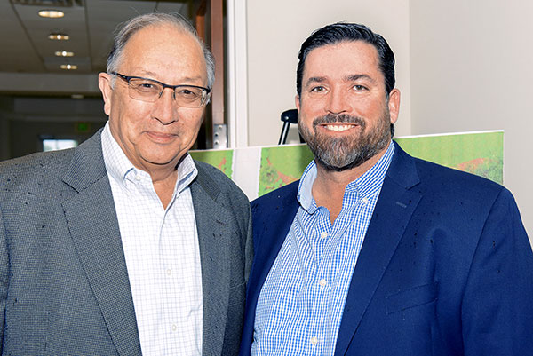 Thom Jones and Brian Garcia