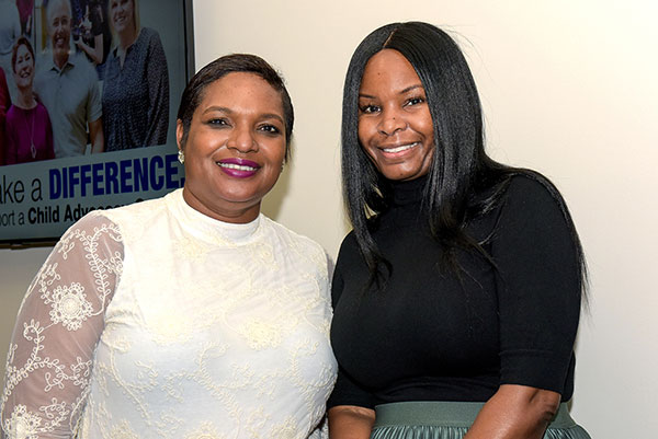 Khay Chatman and Dr. Daphne Cooper