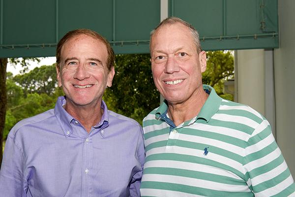 Michael Salem and Paul Heitzenrater
