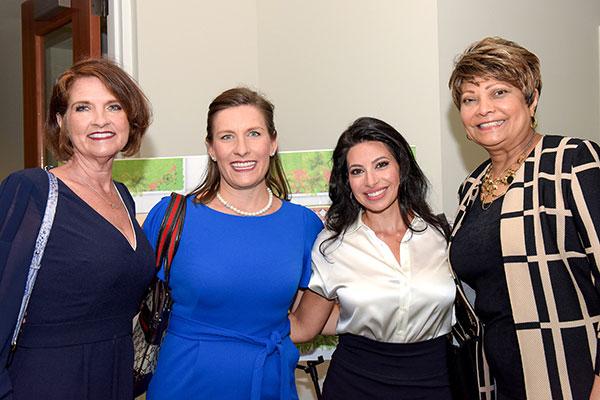 Dr. Kimberlie Massnick, Kelly Laurine, Fida Georges and Dr. Pamela Welmon