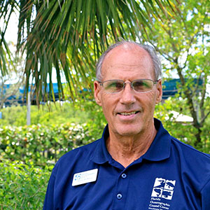Mark Perry, executive director of the Florida Oceanographic Society