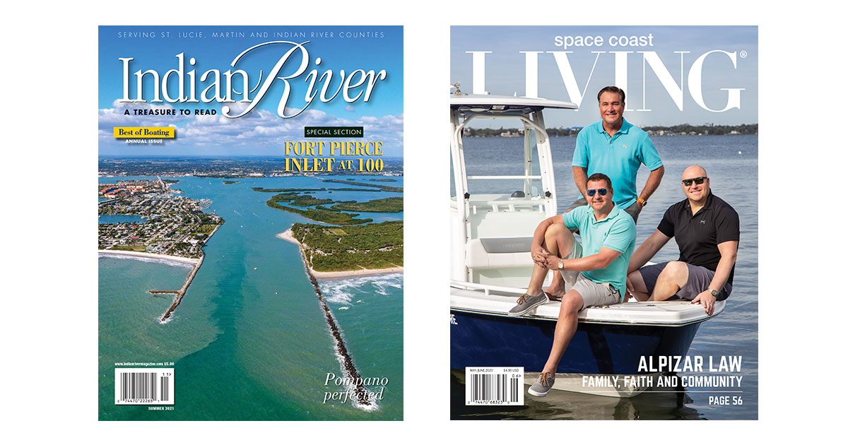 Indian River and Space Coast Living Magazines